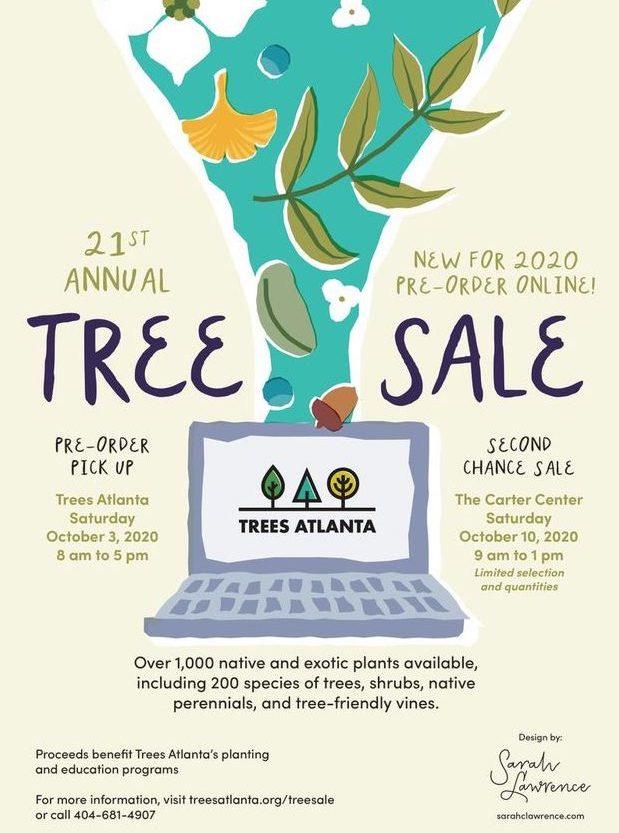 2020 Tree Sale Poster