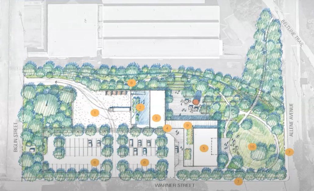 New headquarters site plan