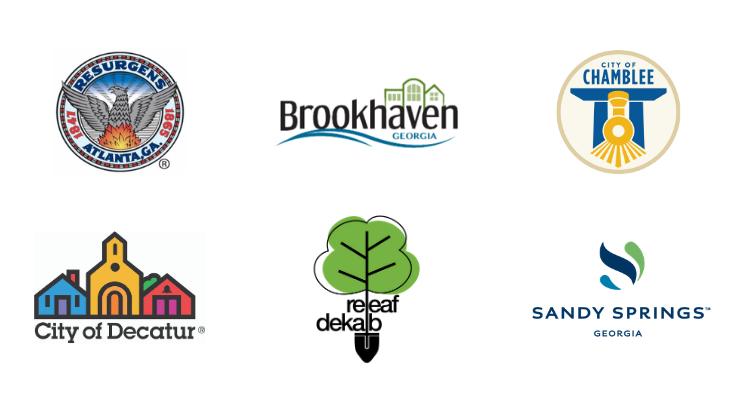 Front Yard Tree program logos