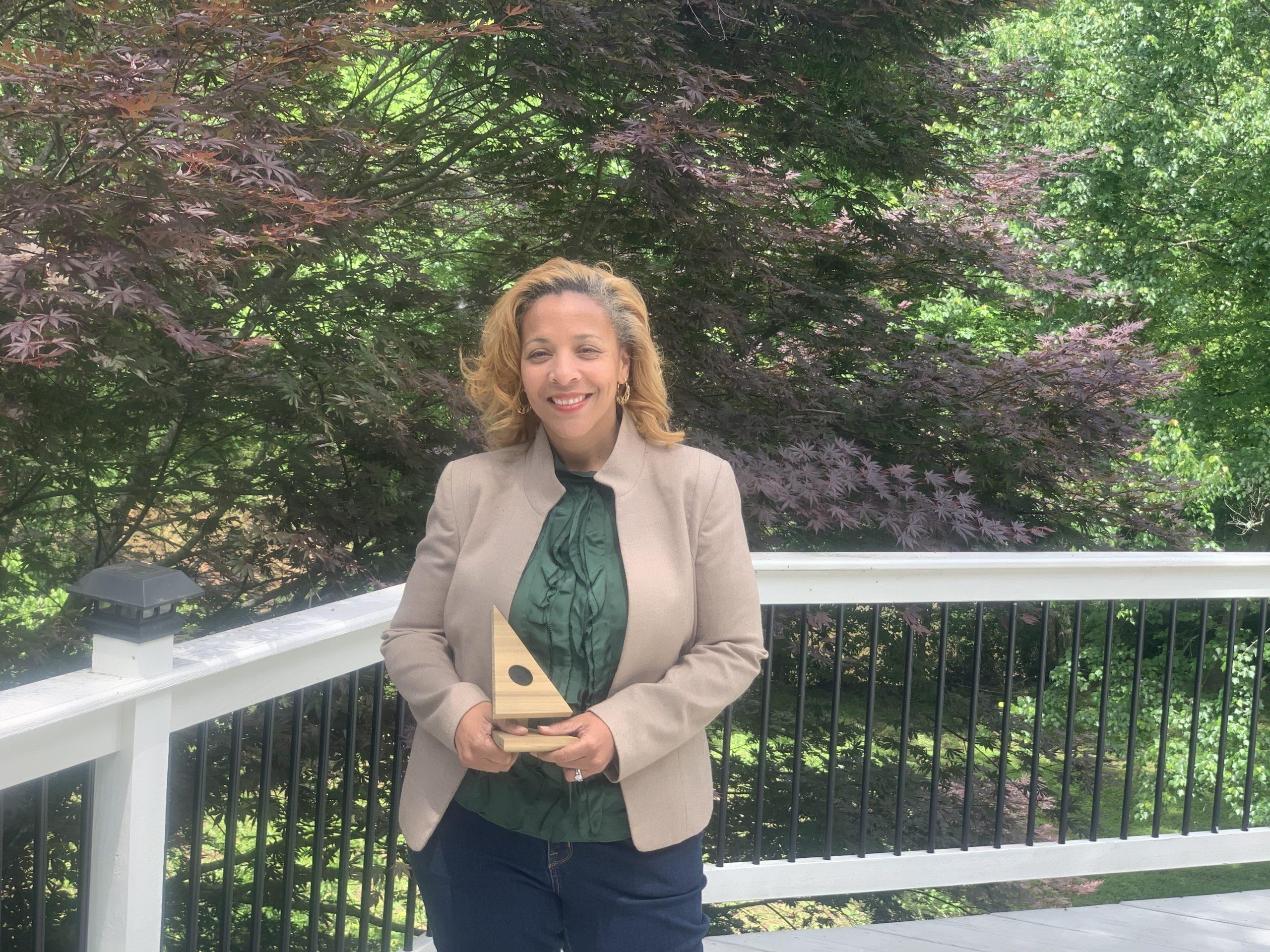 Individual Winner Trish Treadwell awarded by Trees Atlanta 2021 Tree Champion at Root Ball