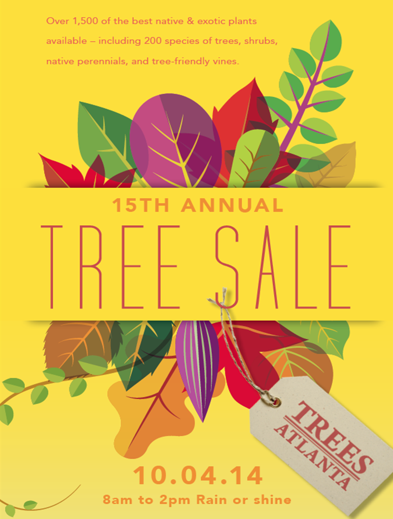 Tree Sale Poster