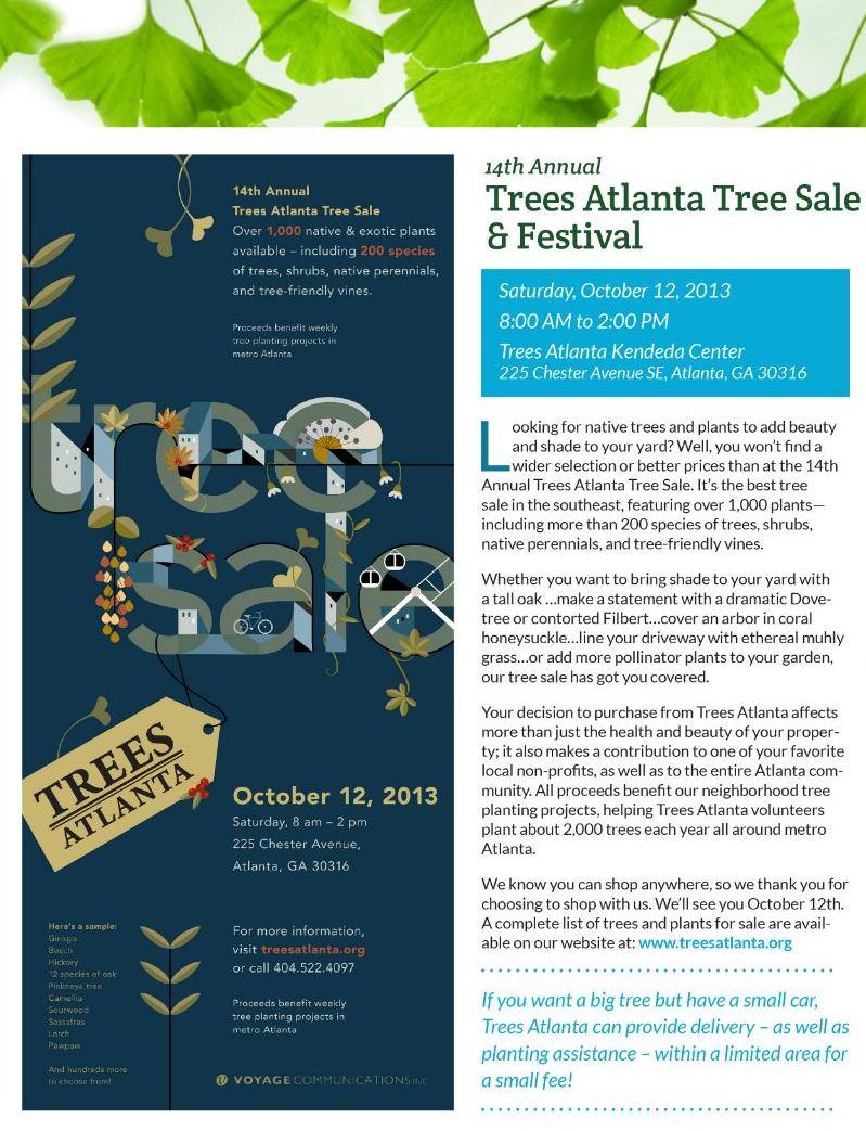 tree sale flyer